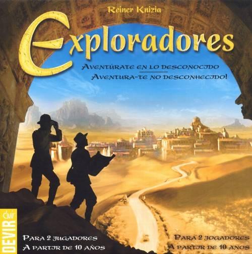 Caixa jogo para 2 pessoas Exploradores