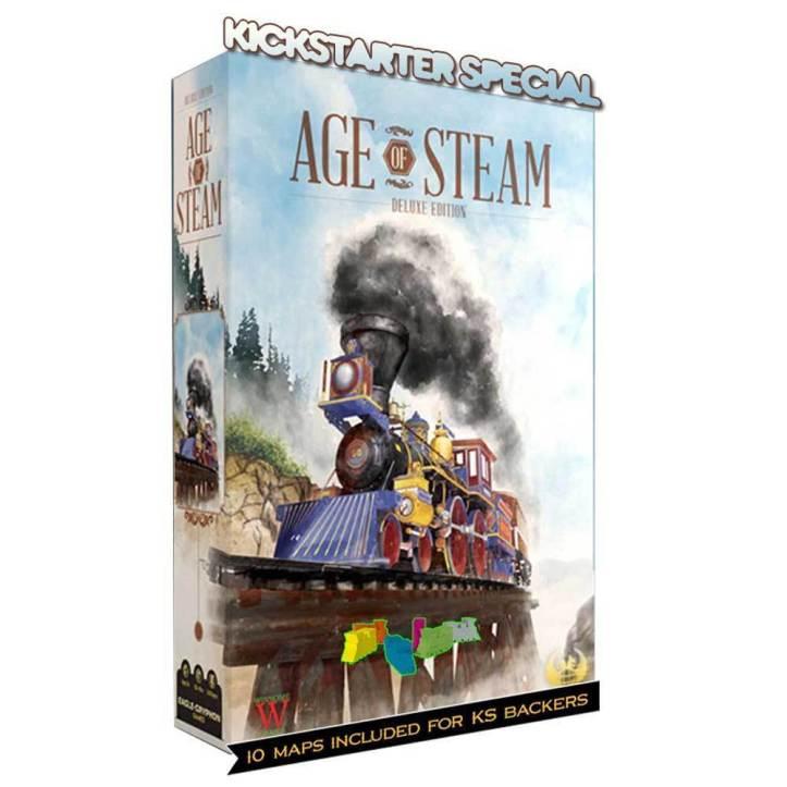 Jogo de tabuleiro Age of Steam