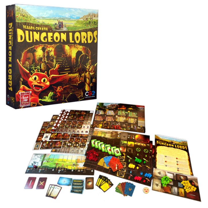 Jogo de tabuleiro Dungeon Lords