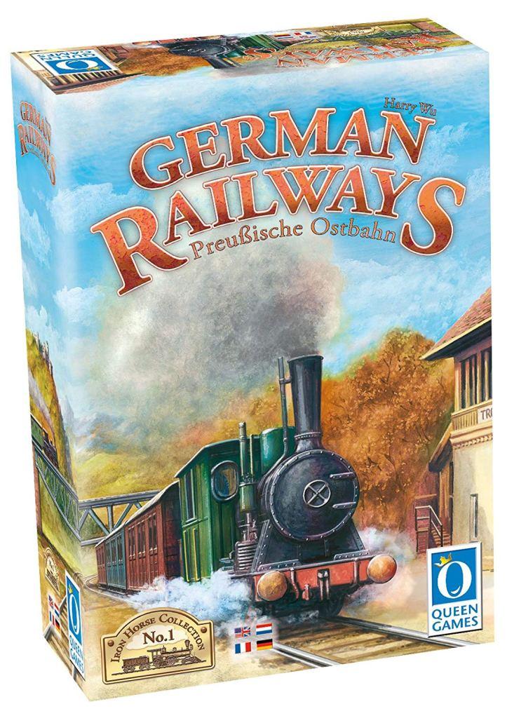 Jogo de tabuleiro German Railways