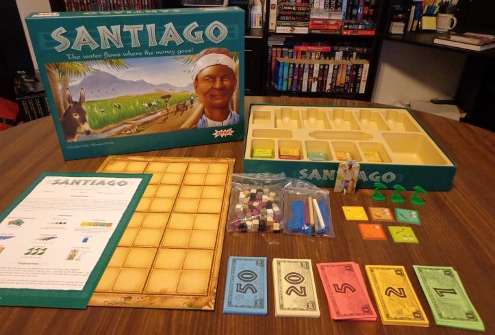 Jogo de tabuleiro Santiago
