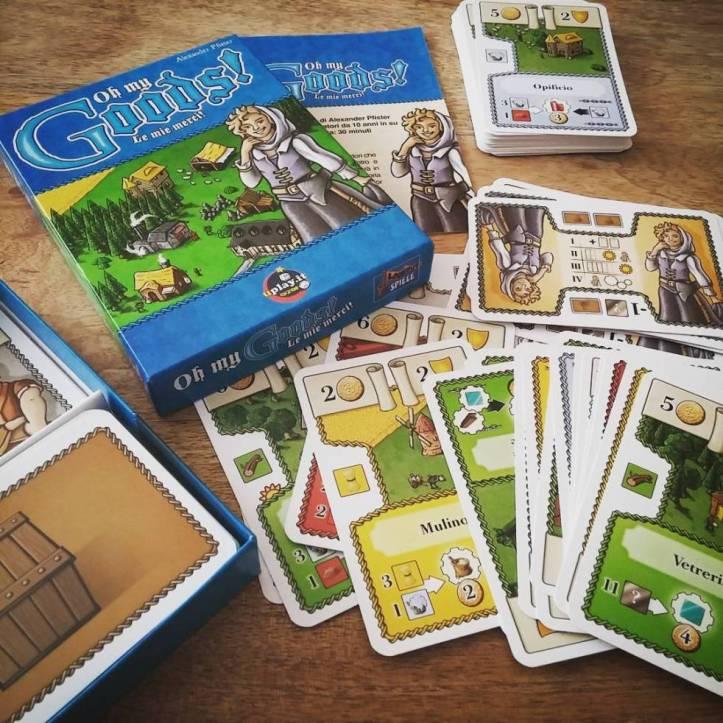 Jogo de cartas Oh My Goods!