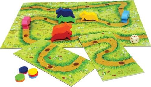 Tabuleiro do jogo Troupe dos Porquinhos