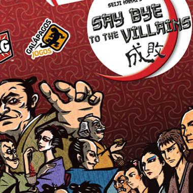 Jogo de cartas Say Bye to the Villains