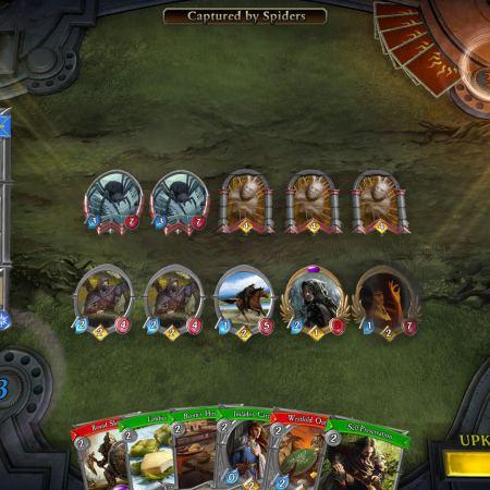 Senhor dos Anéis The Card Game em formato digital