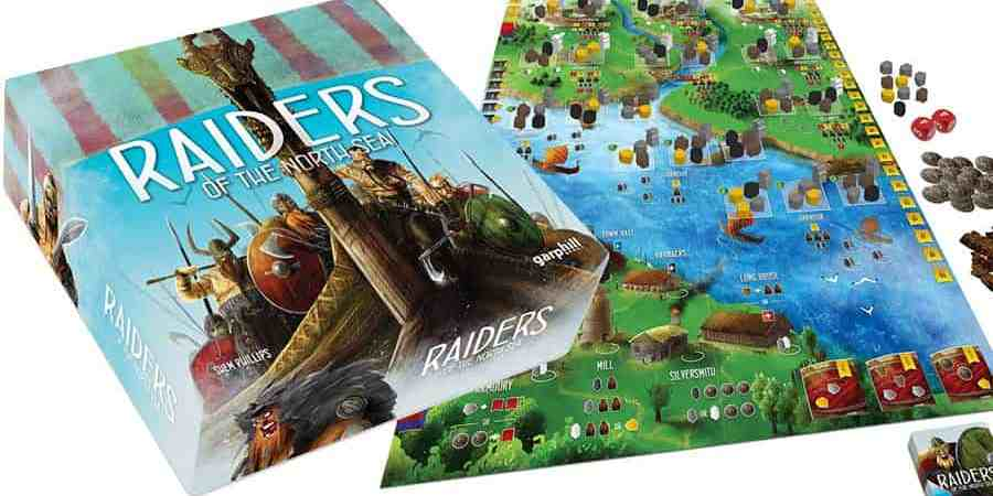2 expansões para o Raiders of the North Sea