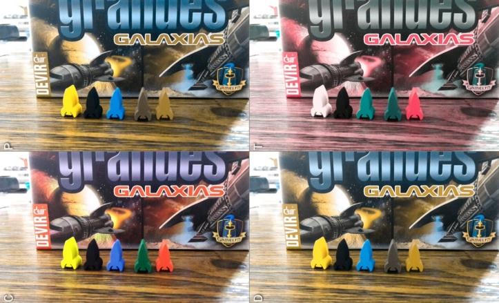 Acessibilidade do jogo Tiny Epic Galaxies