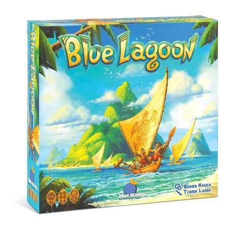Colonize ilhas em Blue Lagoon