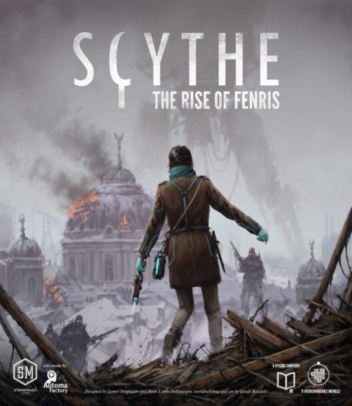 Expansão Scythe The Rise of Fenris