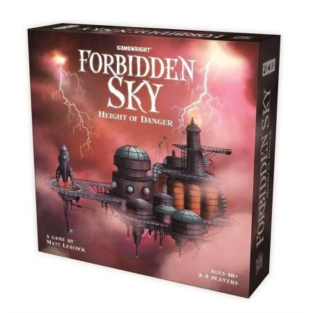 Forbidden Sky é mais um cooperativo de Matt Leacock