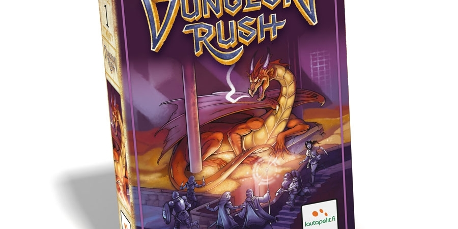 Jogo de tabuleiro Dungeon Rush