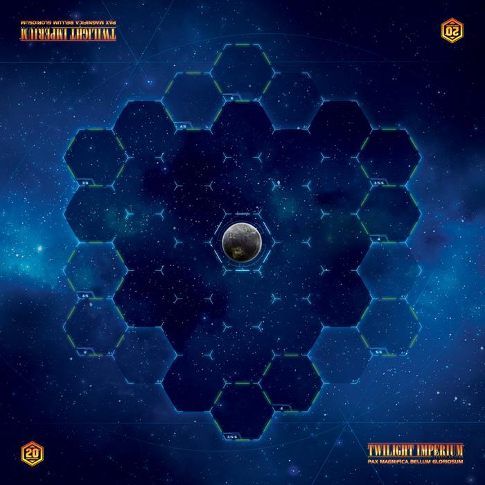 Que tal um playmat do Twilight Imperium para comemorar 20 anos do jogo?