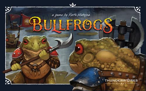 Projeto um jogo por dia 2018 - Dia 3 Bullfrogs