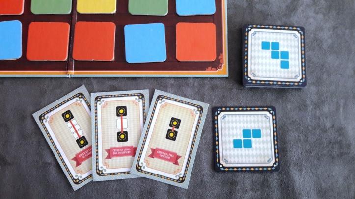 Cartas de movimento jogo El Switcher