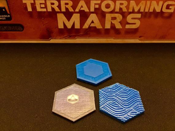 Mares para o jogo Terraforming Mars