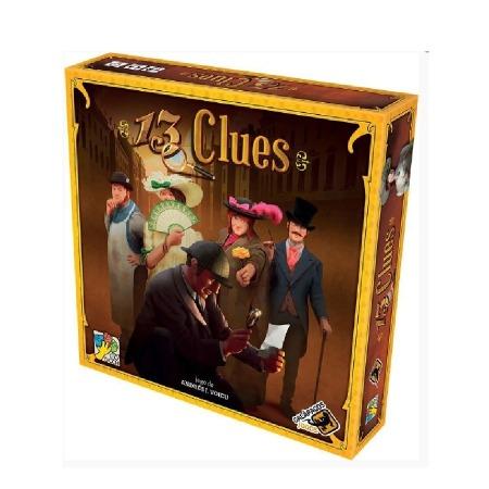 Jogo de tabuleiro 13 Clues