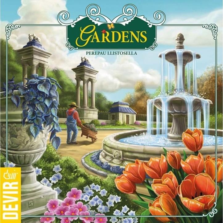 Jogo de tabuleiro Gardens