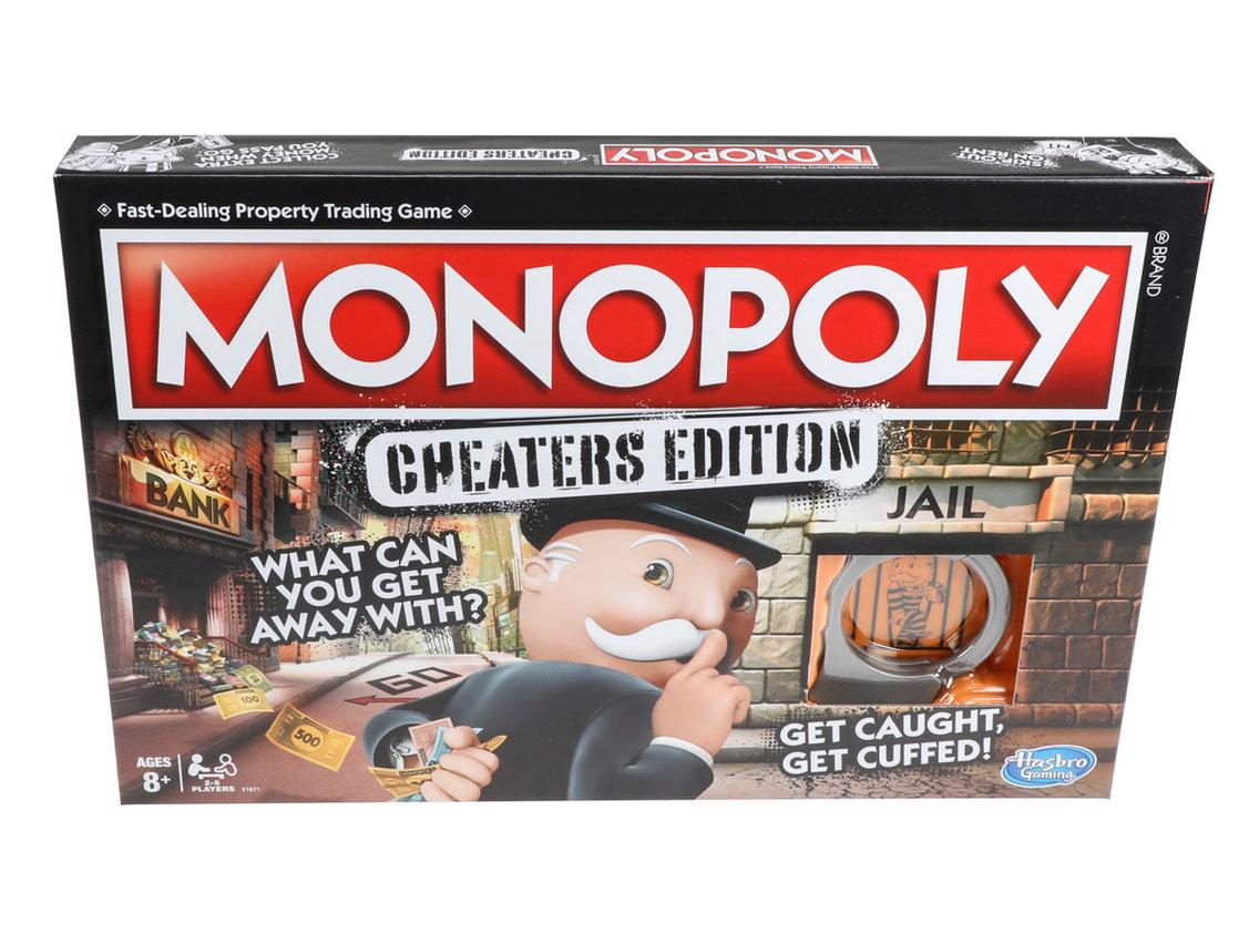 Agora vale (quase) tudo no Monopoly Cheater's Edition