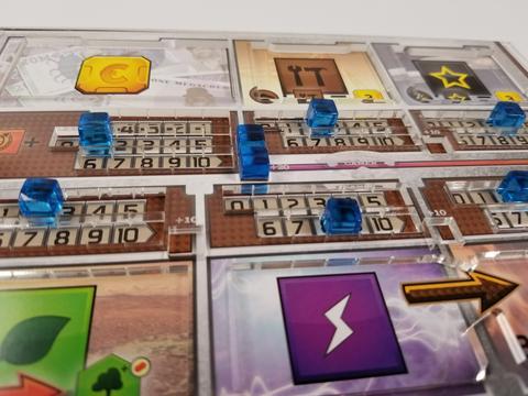 Overlay para o jogo Terraforming Mars