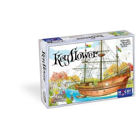 Projeto um jogo por dia 2018 - Dia 7 Keyflower