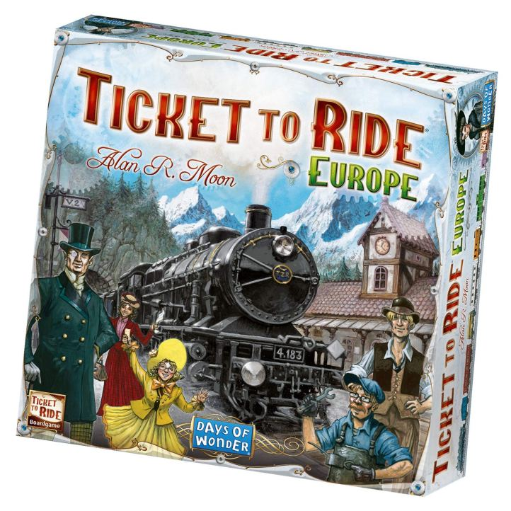 Jogo de tabuleiro Ticket to Ride Europe