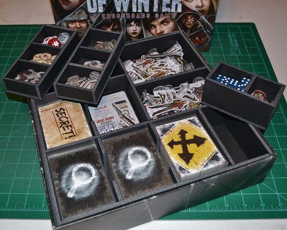 Insert do jogo de tabuleiro Dead of Winter