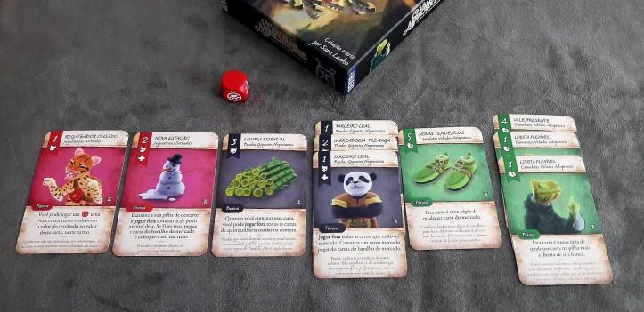 Cartas do jogo Vale dos Mercadores