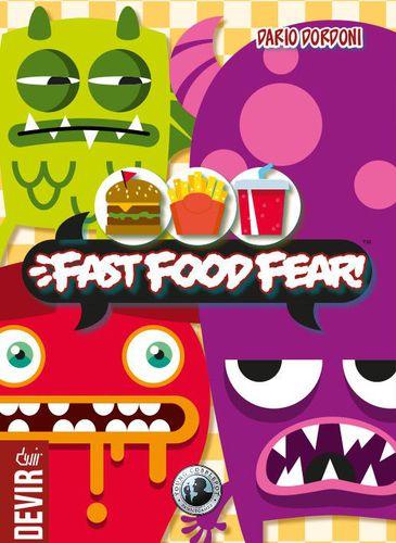 Jogo de tabuleiro Fast Food Fear
