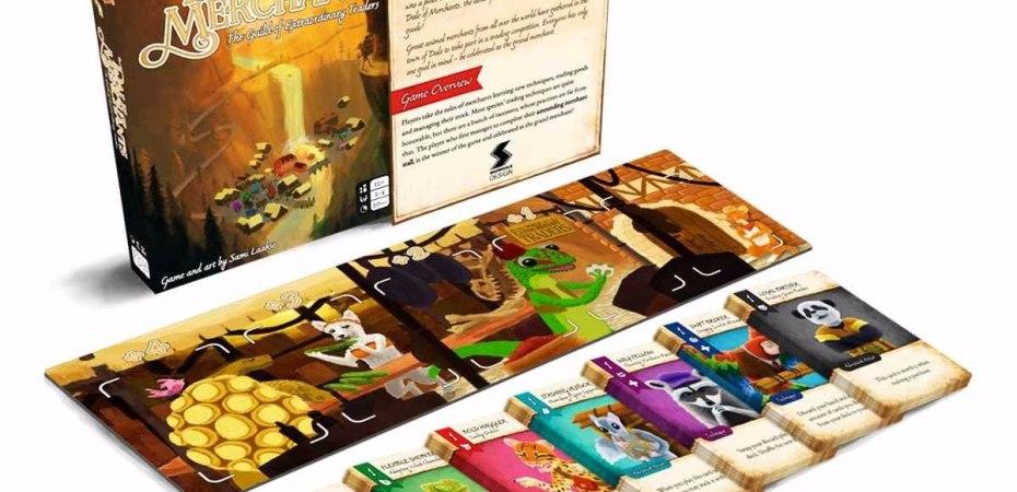 Jogo de tabuleiro Vale dos Mercadores