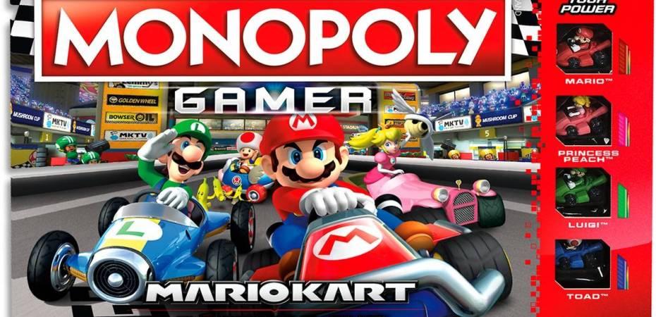 Vem ai Monopoly Mario Kart