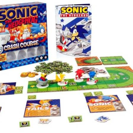 Pré-venda do Sonic Crash Course anunciada