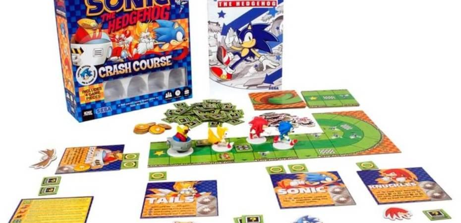Pré-venda do Sonic Crash Course anunciada