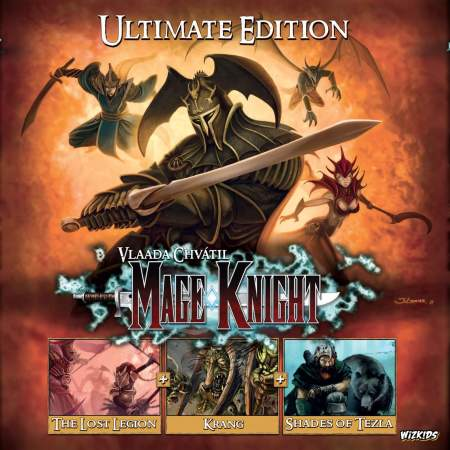 Wizkids anuncia Mage Knight Ultimate Edition