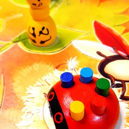 Jogo de tabuleiro Ladybug Costume Party
