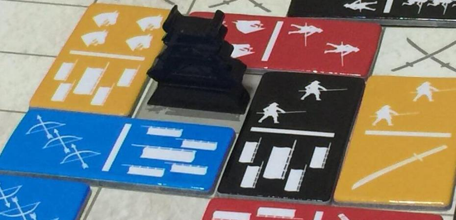 A guerra do dominó em Sengoku Domino