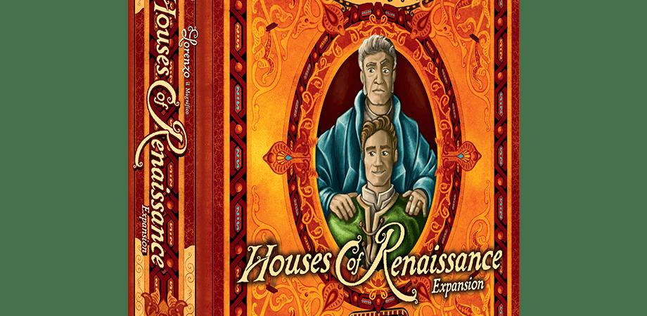 Houses of Renaissance é a expansão para Lorenzo il Magnifico