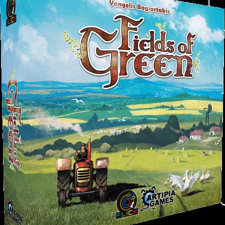 Jogo de tabuleiro Fields of Green