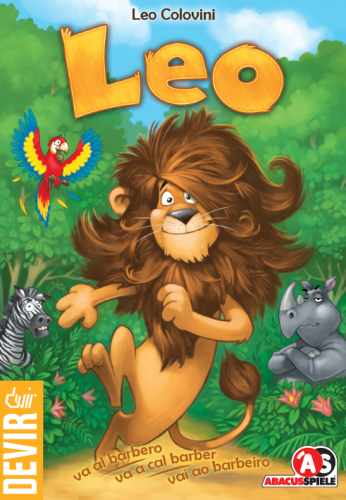 Jogo de tabuleiro infantil LEO