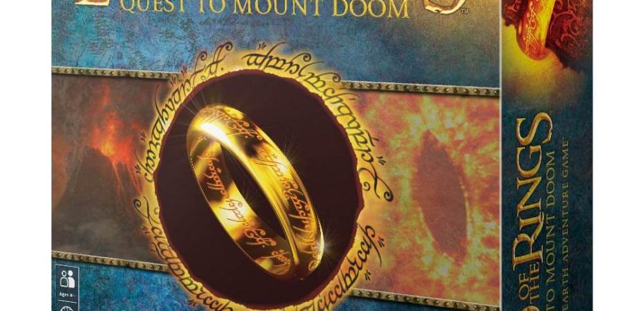 Lord of The Rings Quest to Mount Doom anunciado pela Game Workshop
