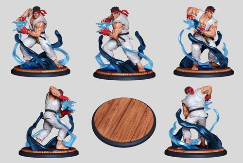 Street Fighter The Miniature Game em financiamento coletivo