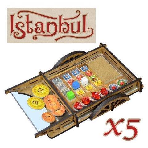 Idéias e acessórios para jogo de tabuleiro Istanbul