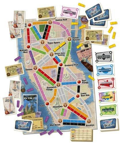 Jogo de tabuleiro Ticket to Ride New York