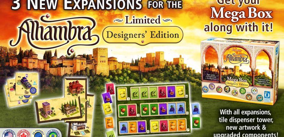 Alhambra Designers Edition em financiamento coletivo