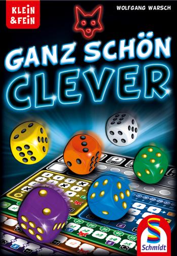 Jogo de tabuleiro Ganz Schon Clever