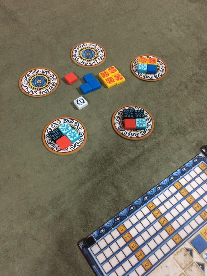 Fábricas de azulejo do jogo AZUL