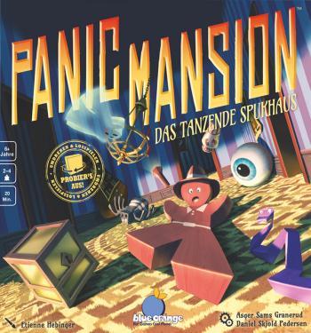 Jogo de tabuleiro Panic Mansion