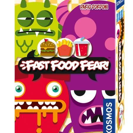 Projeto um jogo por dia 2018 - Dia 26 Fast Food Fear
