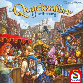 Jogo de tabuleiro Die Quacksalber von Quedlinburg
