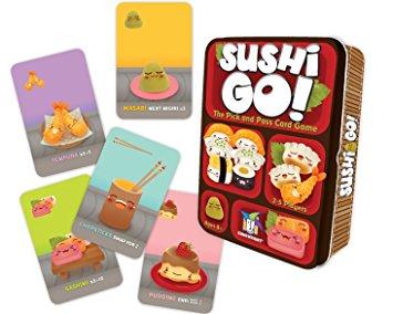 Jogo de tabuleiro Sushi Go!