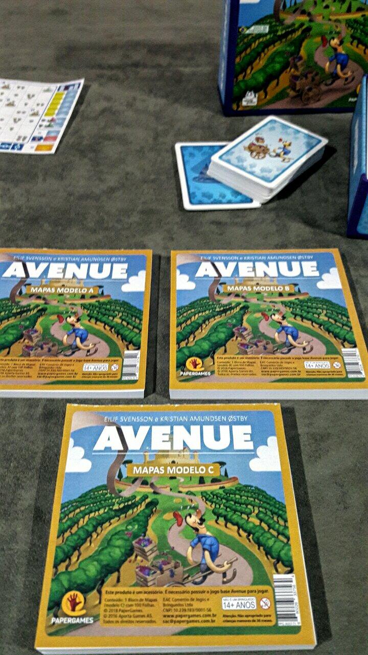 Blocos de desenhos do jogo Avenue